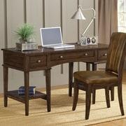 Hillsdale Gresham Writing Desk and Chair Set; Cherry