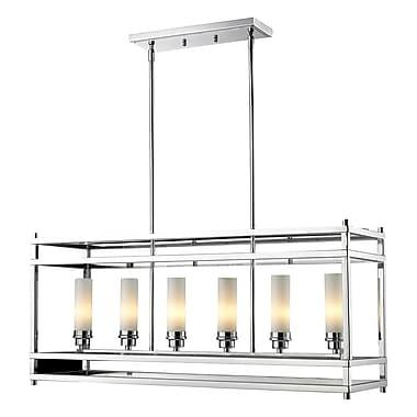 Z-Lite Altadore 6-Light Metal Foyer Pendant; Chrome