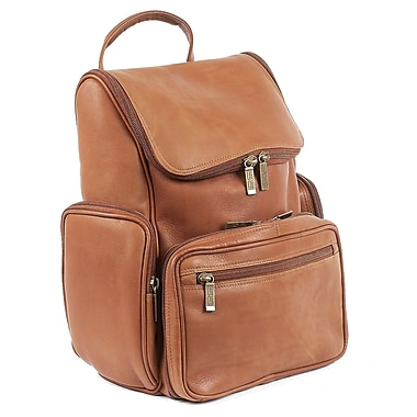 Claire Chase Guardian Computer Backpack; Saddle