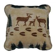 Denali Deer Throw Pillow