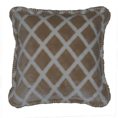 Denali Lattice Throw Pillow