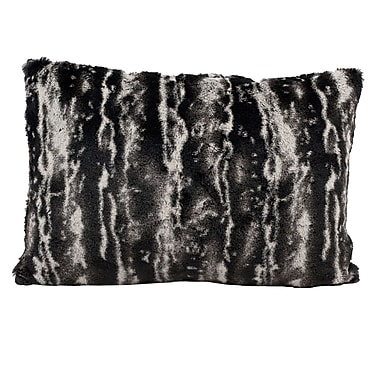 Nourison Fur Lumbar Pillow
