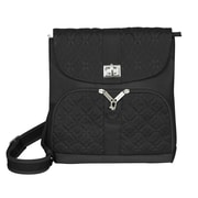 Travelon Anti-Theft Messenger Bag; Black