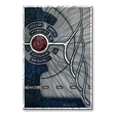 All My Walls 'Nonlinear Dynamics' by Duncan Asper Graphic Art Plaque