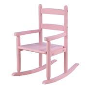 KidKraft Kid's 2 Slat Rocking Chair; Pink