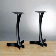 Bello Heavy Duty 24'' Fixed Height Speaker Stand (Set of 2); Black