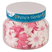 Alvin and Co. Irene's Garden O Blooms Flower Jar (Set of 60); Pink