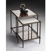 Butler Metalworks 2 Piece Nesting Tables