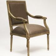 Zentique Inc. Louis Fabric Arm Chair