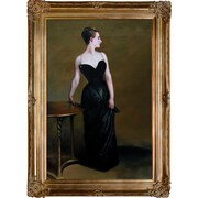 Tori Home Portrait of Madame X by John Singer Sargent Framed Painting Print