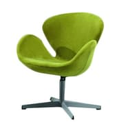 Ceets Swan Swivel Arm Chair