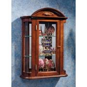 Design Toscano Rosedale Wall Curio Cabinet
