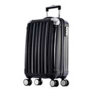 Olympia Stanton 25'' Hardsided Spinner Suitcase; Black