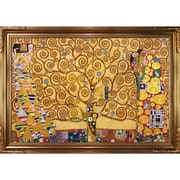 Tori Home The Tree of Life, Stoclet Frieze (Luxury Line) by Klimt Framed Hand Painted Oil on Canvas