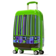 Olympia Princess Art Series 21'' Hardsided Carry-On Spinner Suitcase; Apple Green