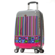 Olympia Princess Art Series 21'' Hardsided Carry-On Spinner Suitcase; Paradise Pink