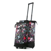 Olympia Fashion Butterfly Rolling Shopping Tote