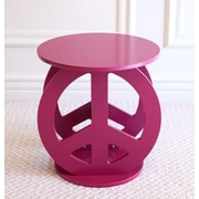 Mega Home End Table; Purple