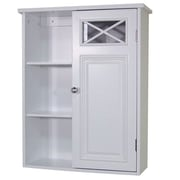 Elegant Home Fashions Dawson Wall Cabinet with Single Door and Shelves