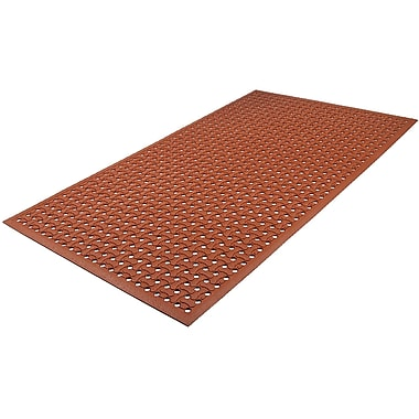 Design By AKRO Grillin Comfort Dog Bone Utility Mat Red