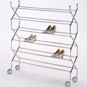 ORE Furniture Criss Cross 6 Tier Shoe Rack