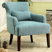 Hokku Designs Marlow Arm Chair; Blue