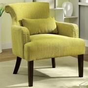 Hokku Designs Marlow Arm Chair; Green
