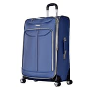 Olympia Tuscany 30'' Spinner Suitcase; Blue