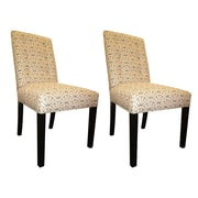 Sole Designs Kacey Side Chairs (Set of 2); Blush