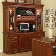 Wildon Home   Keegan Credenza Desk with Hutch