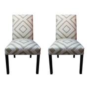 Sole Designs Nouveau Side Chairs (Set of 2); Platinum