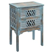 Coast to Coast Imports End Table in Bali Blue
