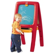 Step2 Easel For Two with Foam Magnets; Red