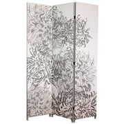 nexxt Design 71'' x 48'' Bota Chrysanthemum 3 Panel Room Divider