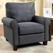 Hokku Designs Attron Modern Arm Chair; Gray