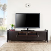 Hokku Designs Hanson TV Stand; Vintage Walnut