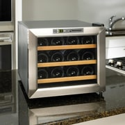 Wine Enthusiast Companies Silent Series 12 Bottle Single Zone Built-In Wine Refrigerator