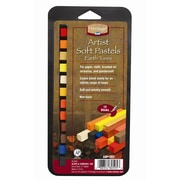 Alvin and Co. Earth Tone Soft Pastels Set (Set of 12)