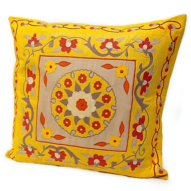 Rennie & Rose Design Group Susan Sargent Bosma Cotton Throw Pillow