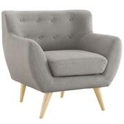 Modway Remark Arm Chair; Light Gray