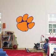 Fathead College Teams NCAA Logo Wall Decal; Clemson
