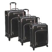 American Airline Skyhawk 3 Piece Luggage Set; Black