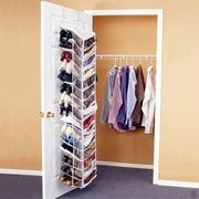 Jobar International 30-Pocket Hanging Shoe Organizer