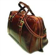 Floto Imports Trastevere 18'' Leather Travel Duffel; Vecchio Brown