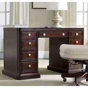 Hooker Furniture Executive Desk with 4 Right & 4 Left Drawers