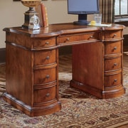 Hooker Furniture Belle Grove Executive Desk with Bow Front