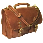 Floto Imports Poste Messenger Bag; Vecchio Brown
