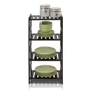 Furinno Pine Multimedia 4-Tier Storage Rack