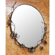 Quiescence Vineyard Mirror; Oil Rubbed Bronze