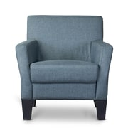 Wholesale Interiors Baxton Studio Silhouettes Club Chair; Gray